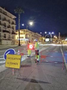 Signalisation temporaire, panneaux
